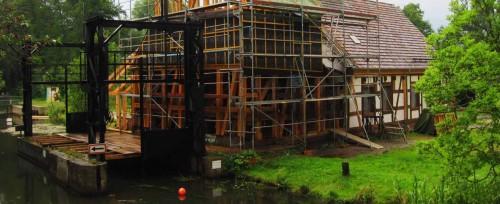 Die Buschmühle im Umbau