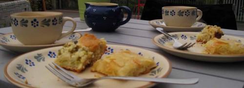 Frischer Blechkuchen vom Alten Backhaus, Raddusch