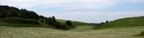 Hügelland am Fuß der Kernberge