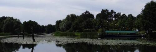 Treidelkahn in Groß Lindow