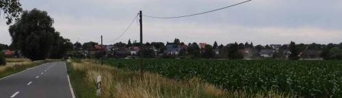 Blick auf Wiesenau