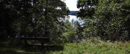 Blick auf den Großen Klobichsee