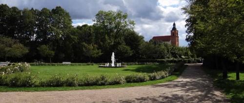 Im Buckower Schlosspark