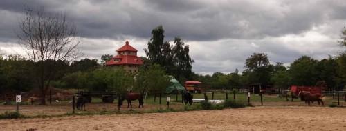 Blick auf den Alten Getreidespeicher, Hobrechtsfelde