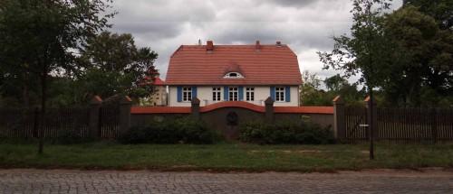 Typisches Haus in Hobrechtsfelde