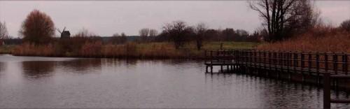Stegweg über dem Mühlensee