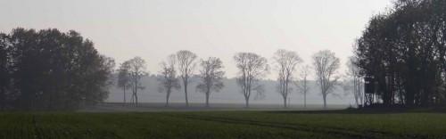 Chaussee von Wesendahl Richtung Strausberg