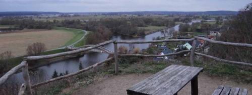Aussichtsplatz oberhalb von Stützkow