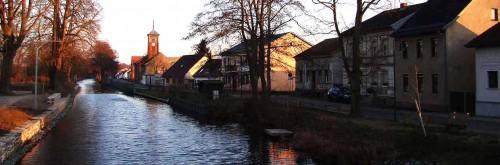 Zwischen Hubbrücke und Alter Schule