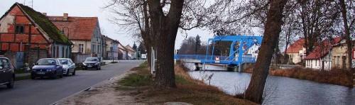 Neue Zugbrücke in Zerpenschleuse City