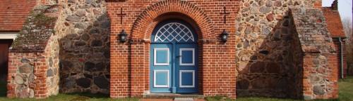 Kirchentür in Dobbrikow