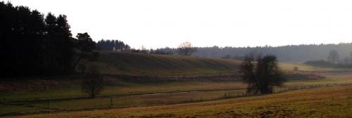 Weicher Wiesenhang vor Ringenwalde