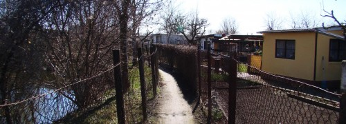 Laubenpfad zur Uckerbrücke
