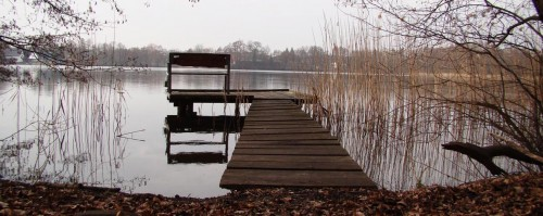 Steg am Burgsee