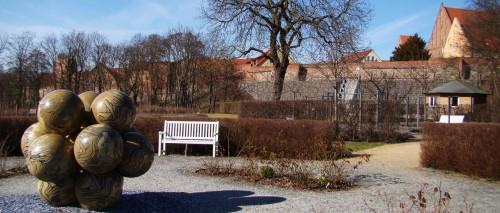 Kussgarten und Weinberg