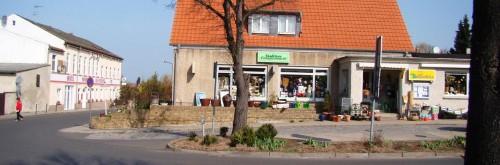Im innersten Zentrum des Ortes Töplitz