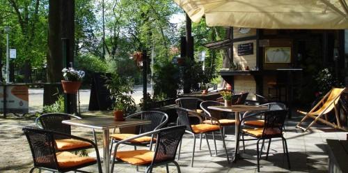 Café Zweiblum am S-Bahnhof Wilhelmshagen