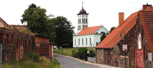 Cöthen mit der Schinkelkirche