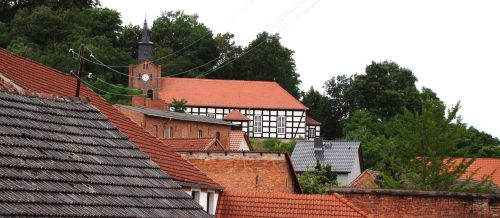 Über den Dächern von Falkenberg