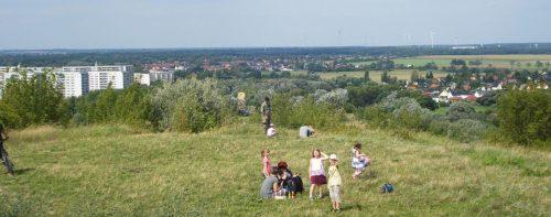 Blick vom Ahrensfelder Berg nach Westen