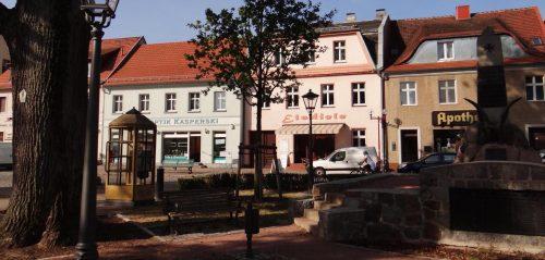 Marktplatz in Teupitz