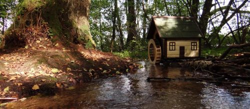 Kleine Mühle am winzigen Klingebach