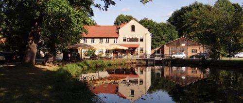 Die wunderschöne Mittelmühle bei Neuendorf