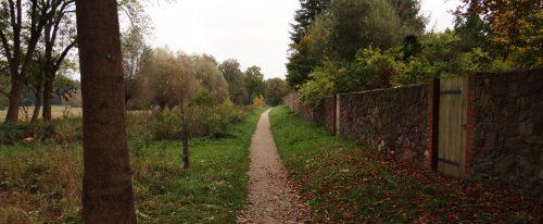 Mauerweg westlich der Stadt bei den Pferdeweiden
